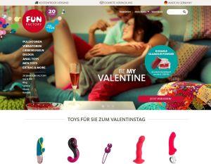 Sexspielzeug bestellen bei Fun Factory