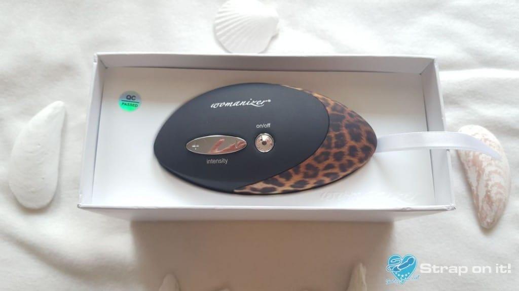 Womanizer Pro W500 - offene Verpackung von oben.