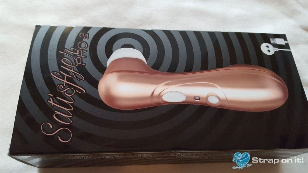 satisfyer pro 2: Erfahrungen mit dem Druckwellen Vibrator: Verpackung-hinten