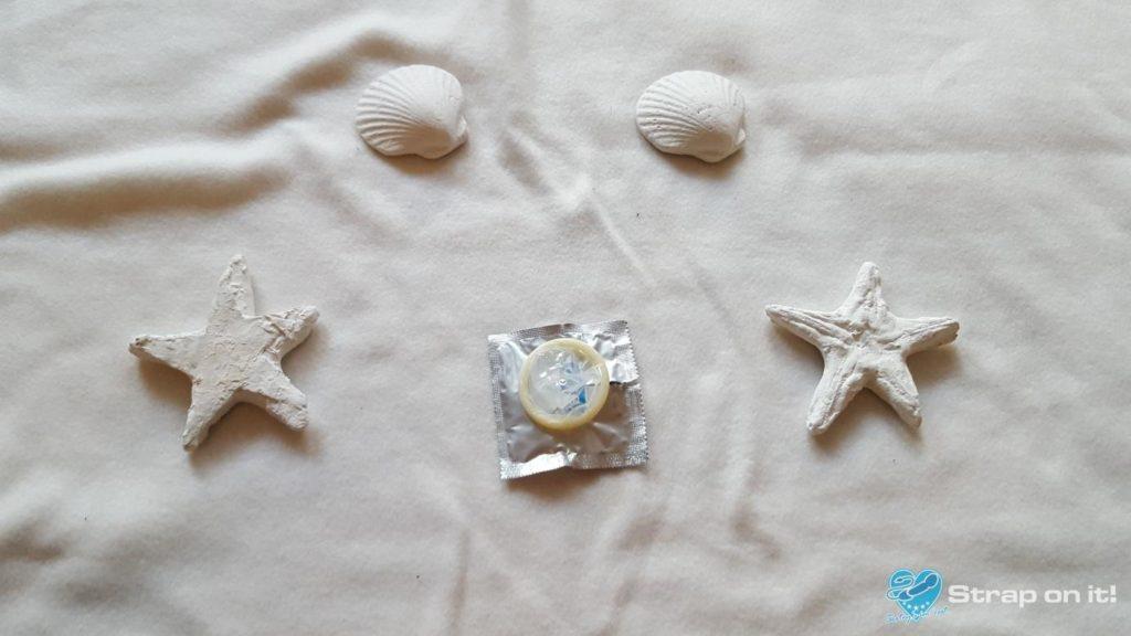 Kondom Test Durex Invisible Gummi ausgepackt
