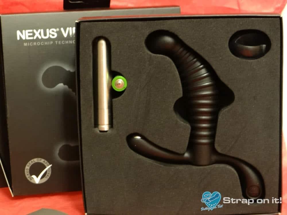 Prostata Vibrator Nexus Vibro in Verpackung