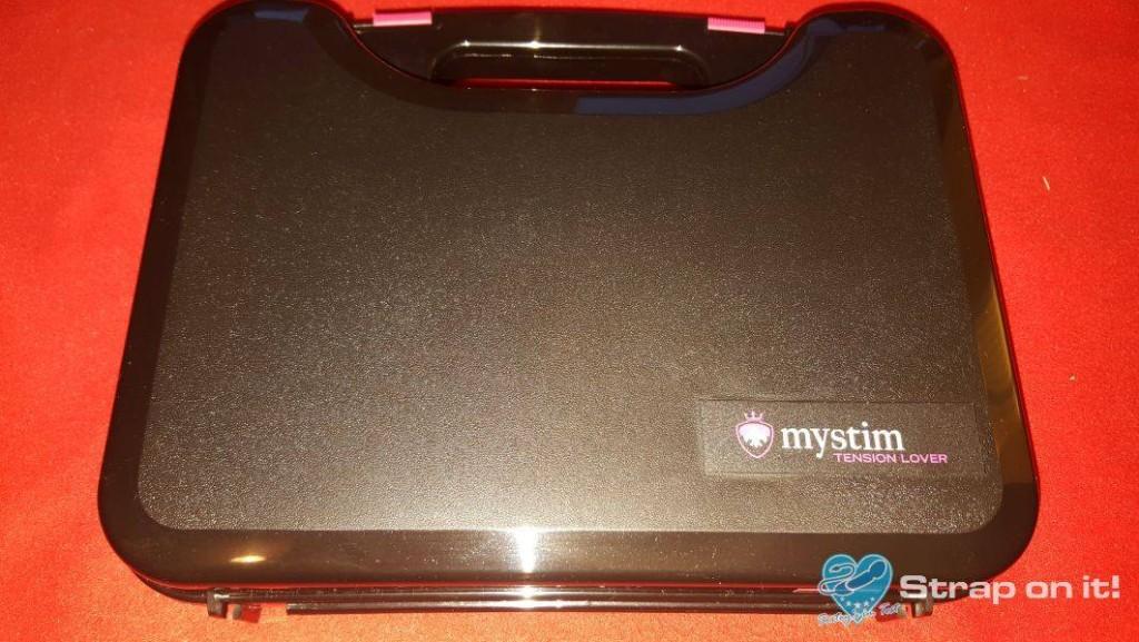 Elektrostimulationsgerät Mystim Tension Lover: Koffer ohne pappdeckel
