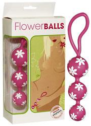 Sexspielzeug für Frauen: Liebeskugeln Flower Balls