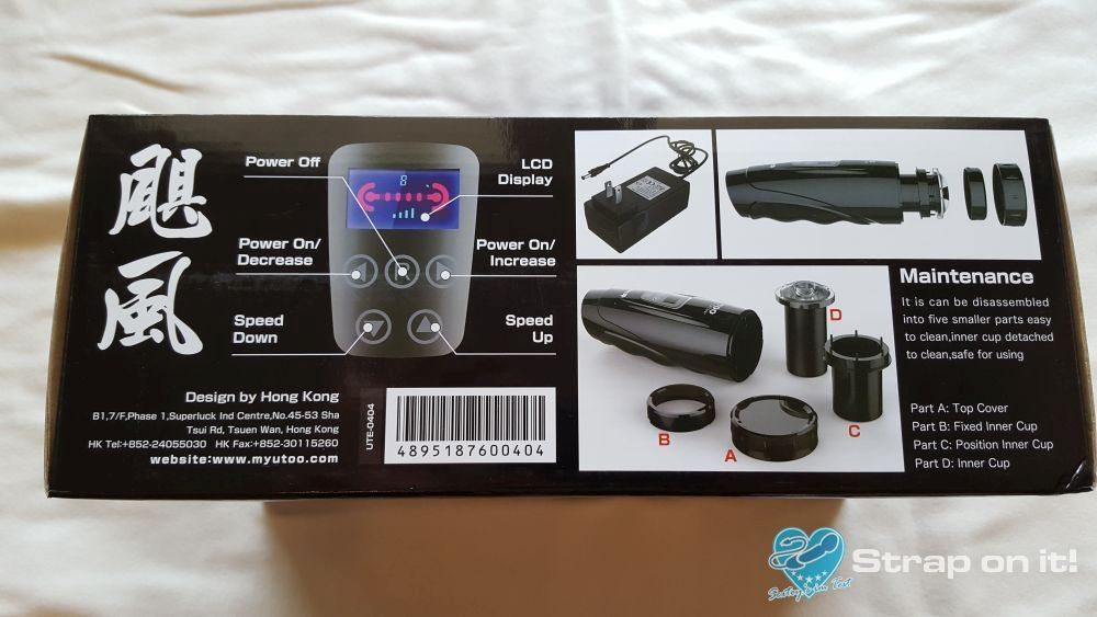 Sex spielzeug für Männer - Verpackung Seite