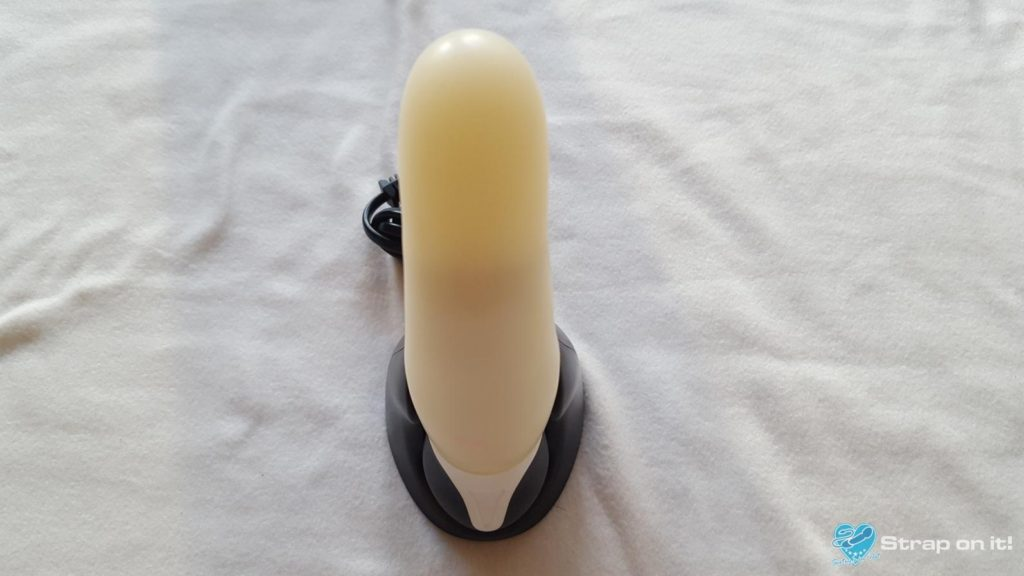 Silikon Vibrator iLyte im Vibrator Test: In der Ladestation