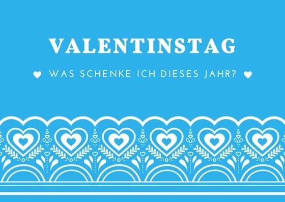 Valentinstag: Was schenken?